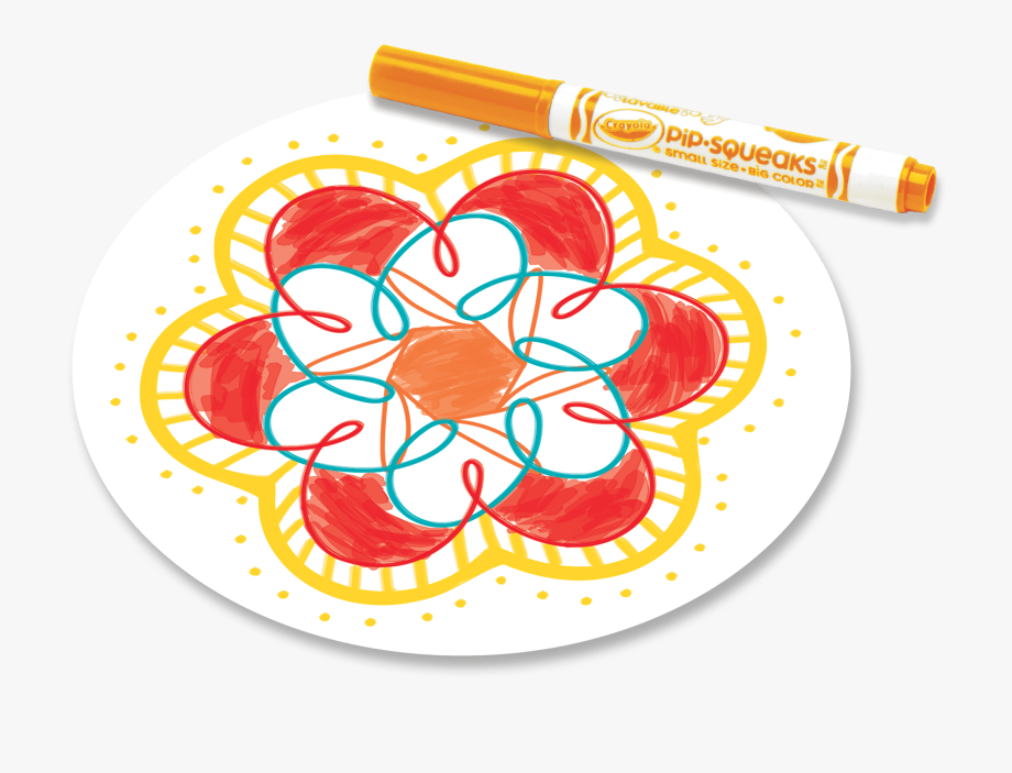 Markers clipart colored marker. Crayola circle transparent