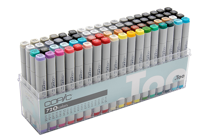 History of copic official. Markers clipart coloured pen
