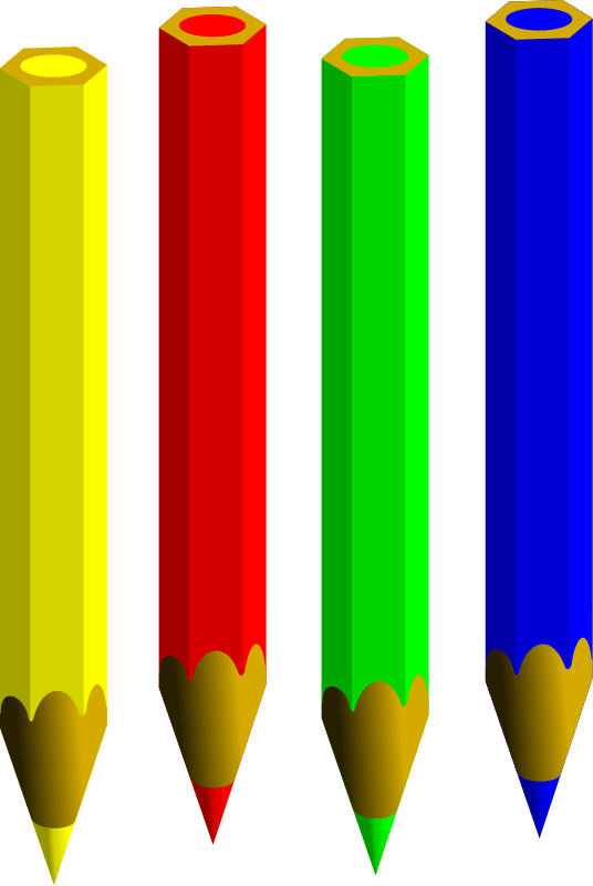 Colored pencils hanslodge cliparts. Markers clipart cryons