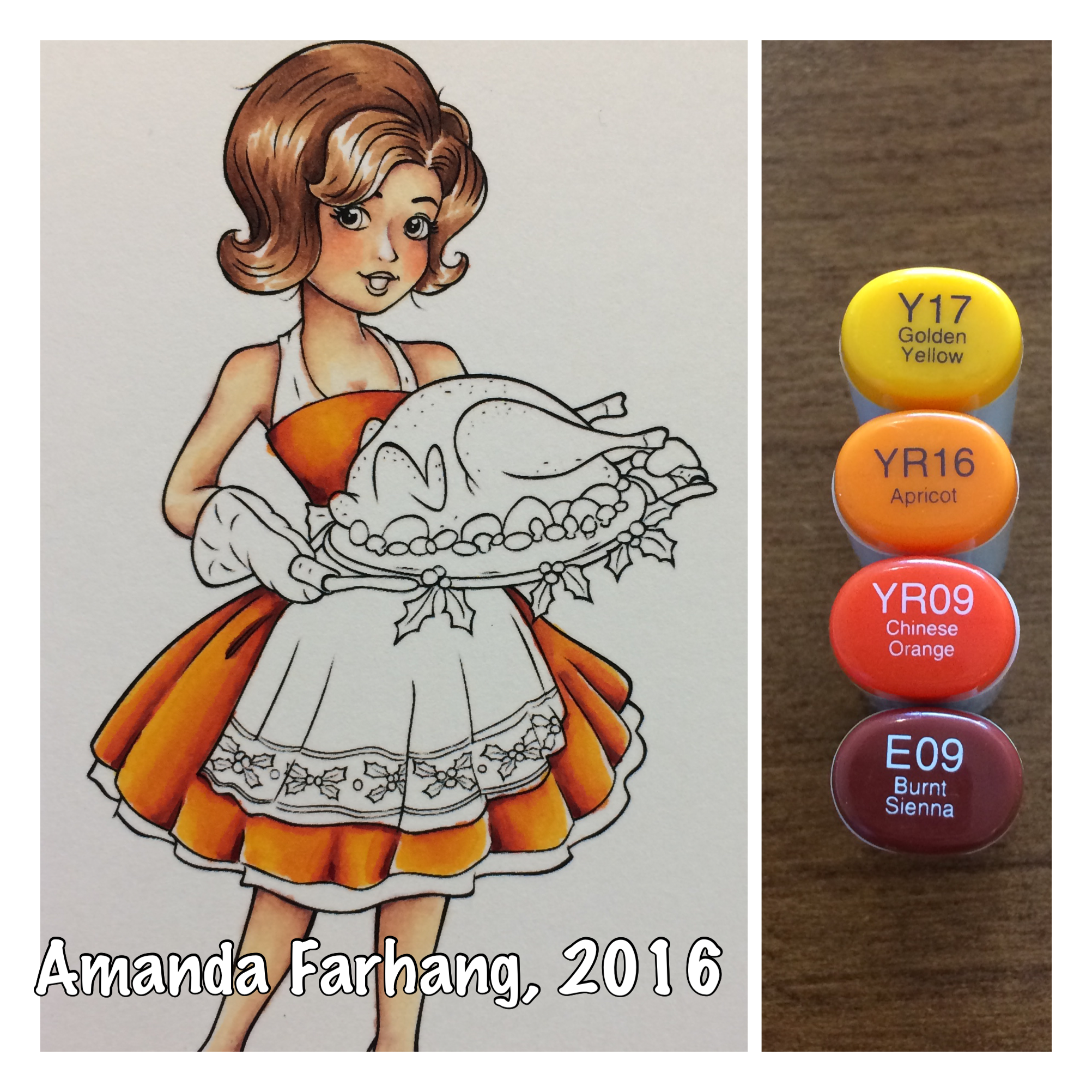 Colored by amanda farhang. Markers clipart paper