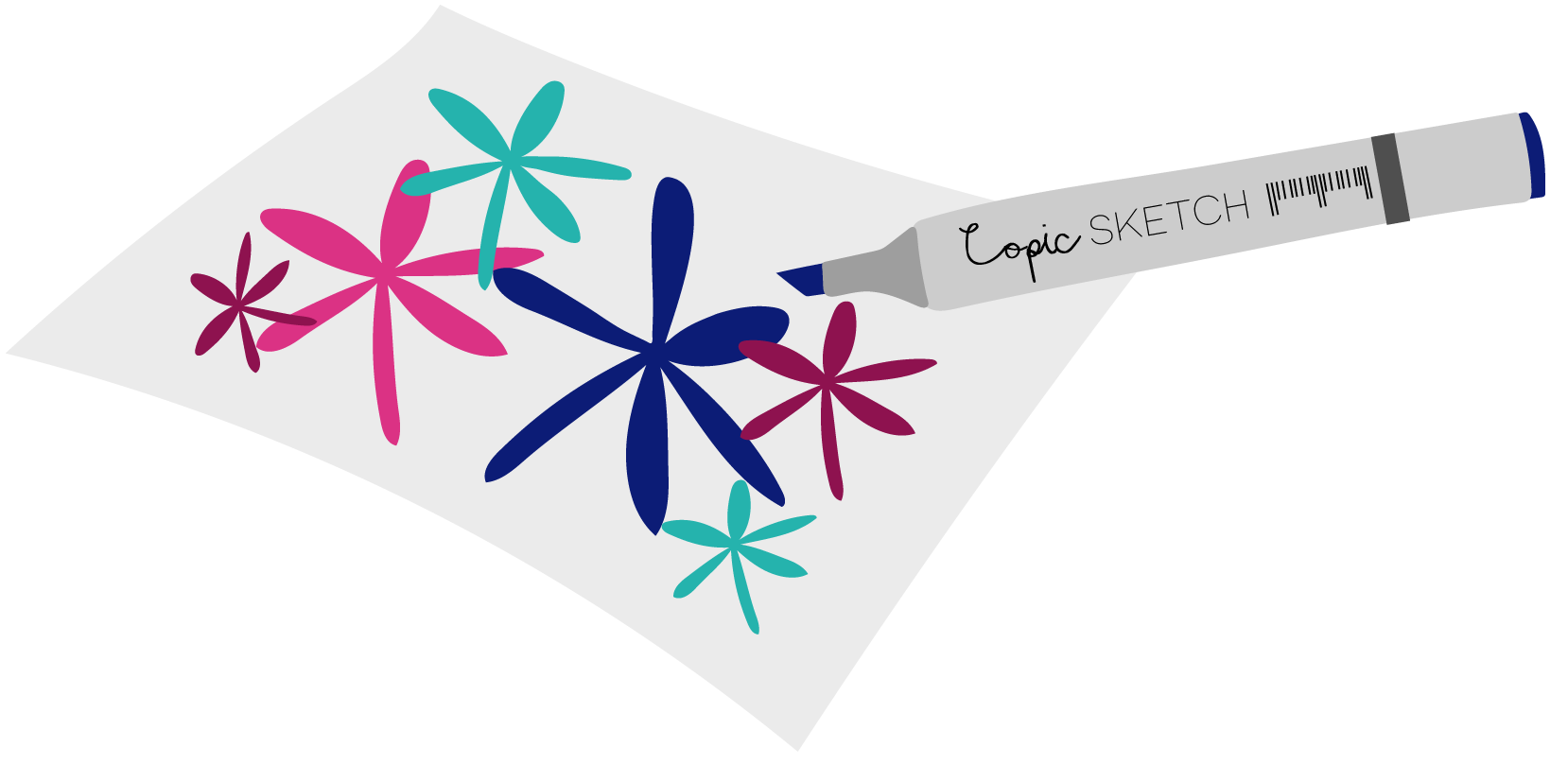 Markers clipart paper. The complete beginner s