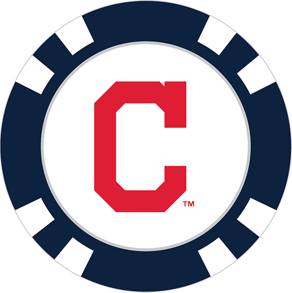 Markers clipart red marker. Cleveland indians poker chip