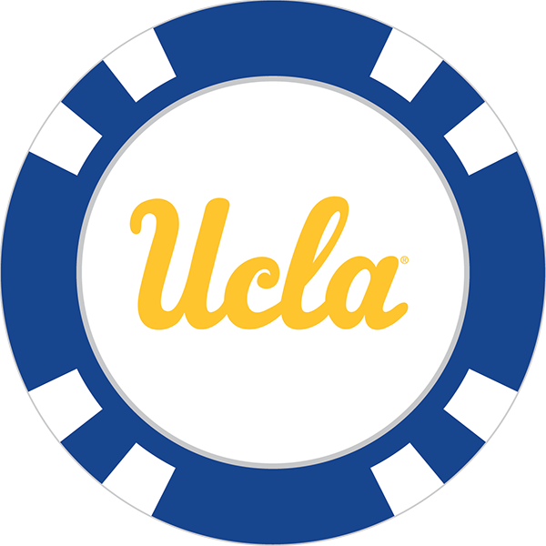 Ucla bruins poker chip. Markers clipart yellow marker