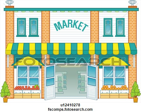 Market clipart. Panda free images info