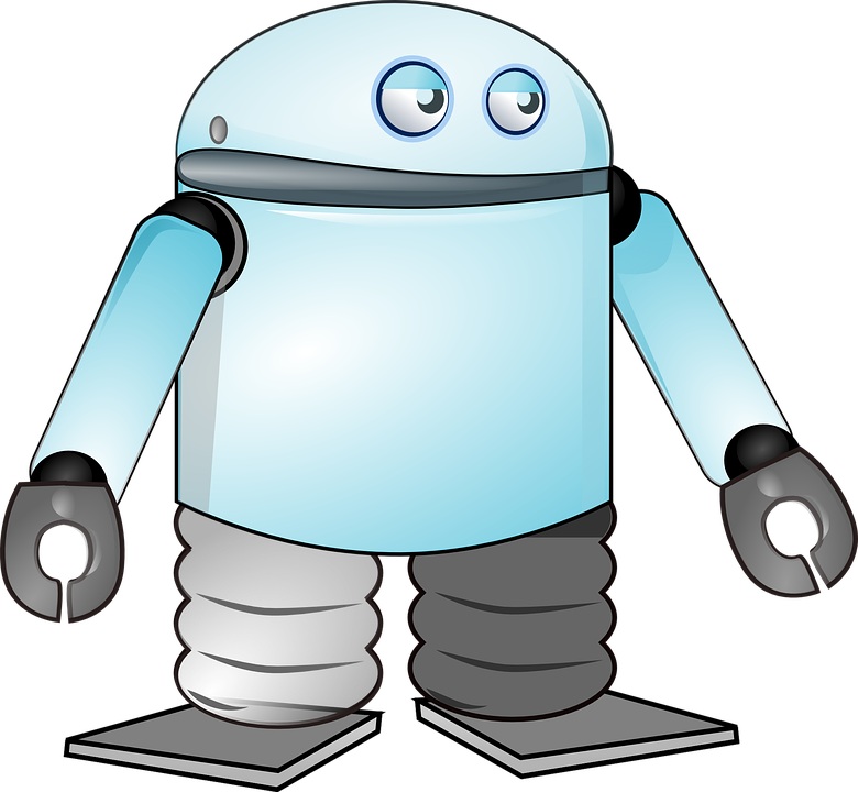 Industrial robots set to. Market clipart animated
