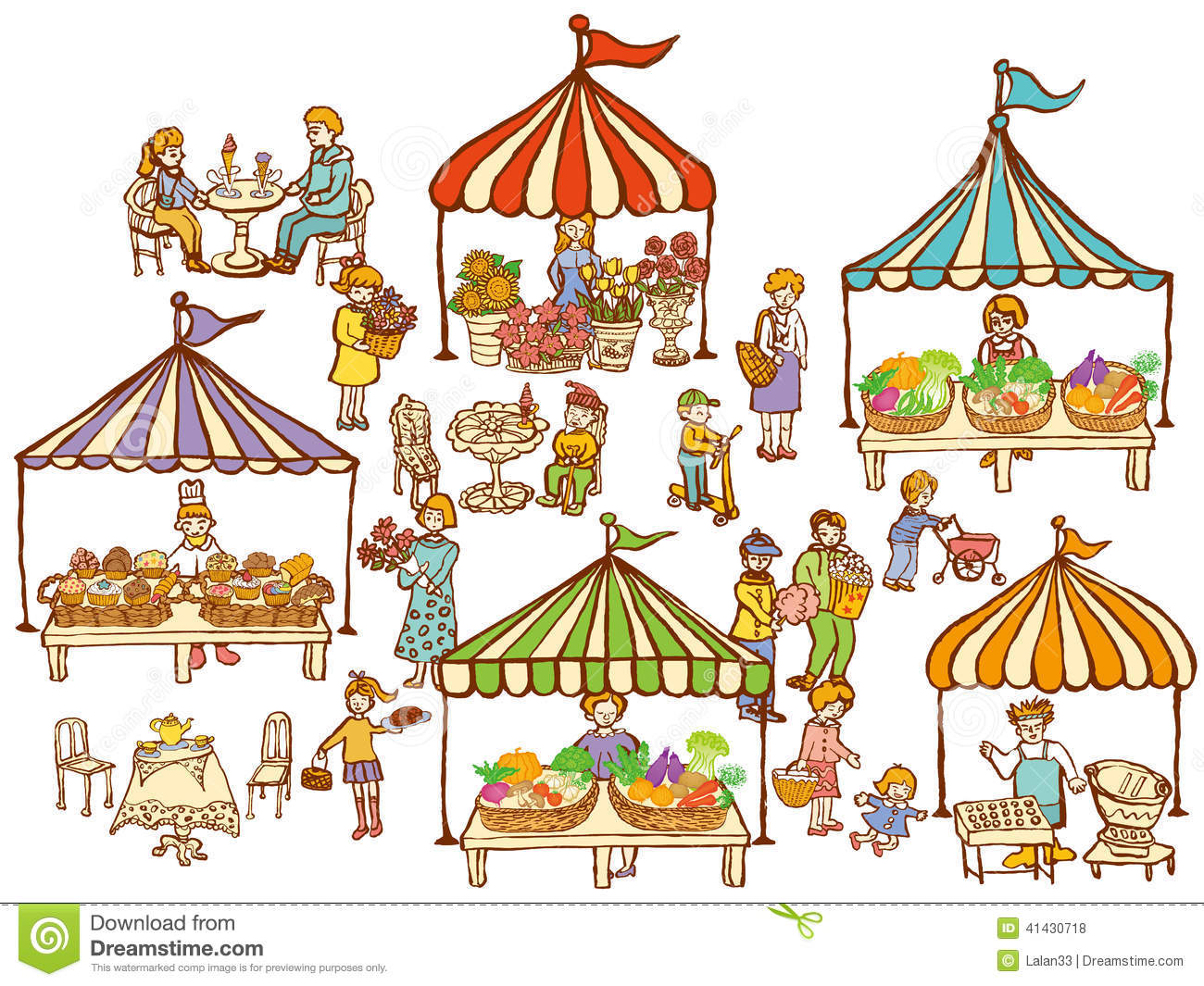 Market clipart animated.  clipartlook