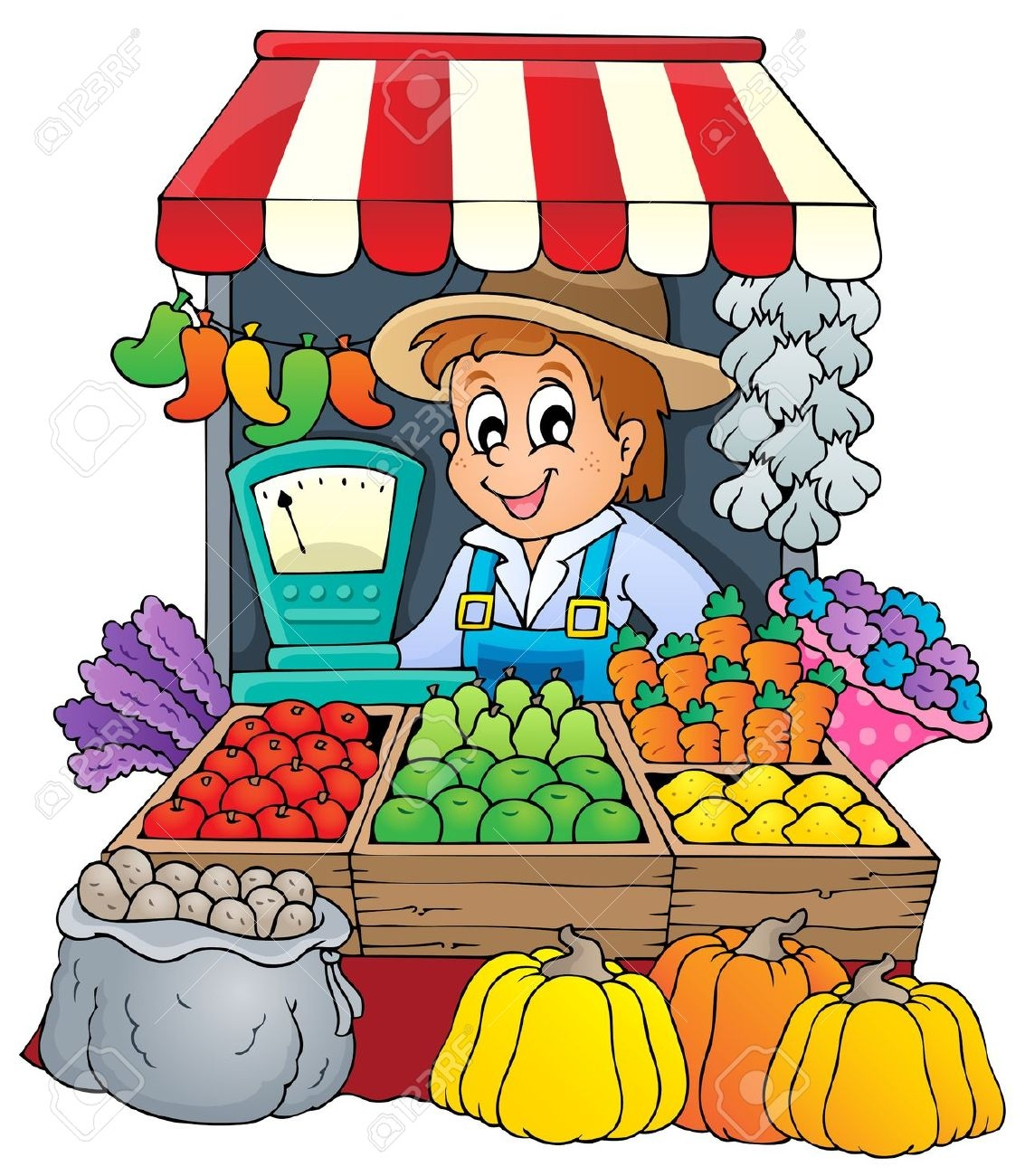 Free download clip art. Market clipart animated