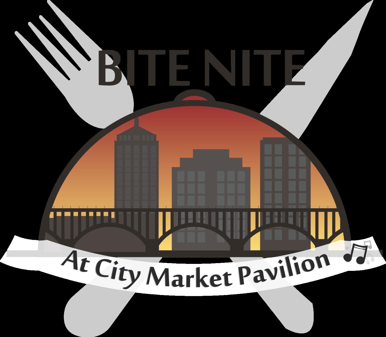 Bite nite at pavilion. Market clipart city market