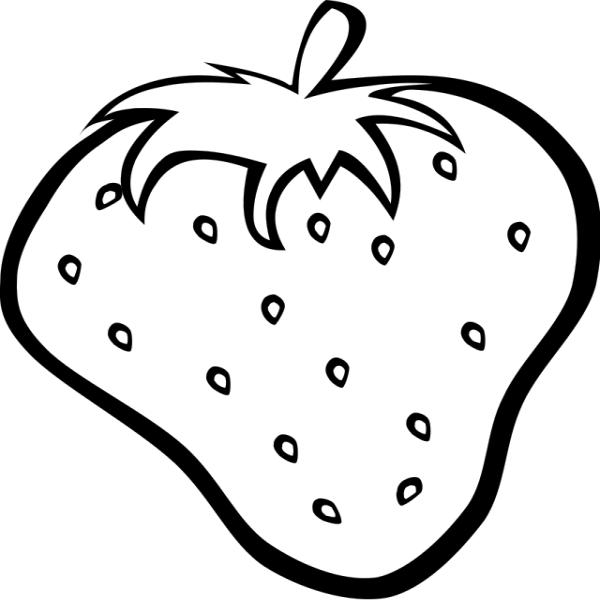 Games for children mobile. Strawberries clipart coloring