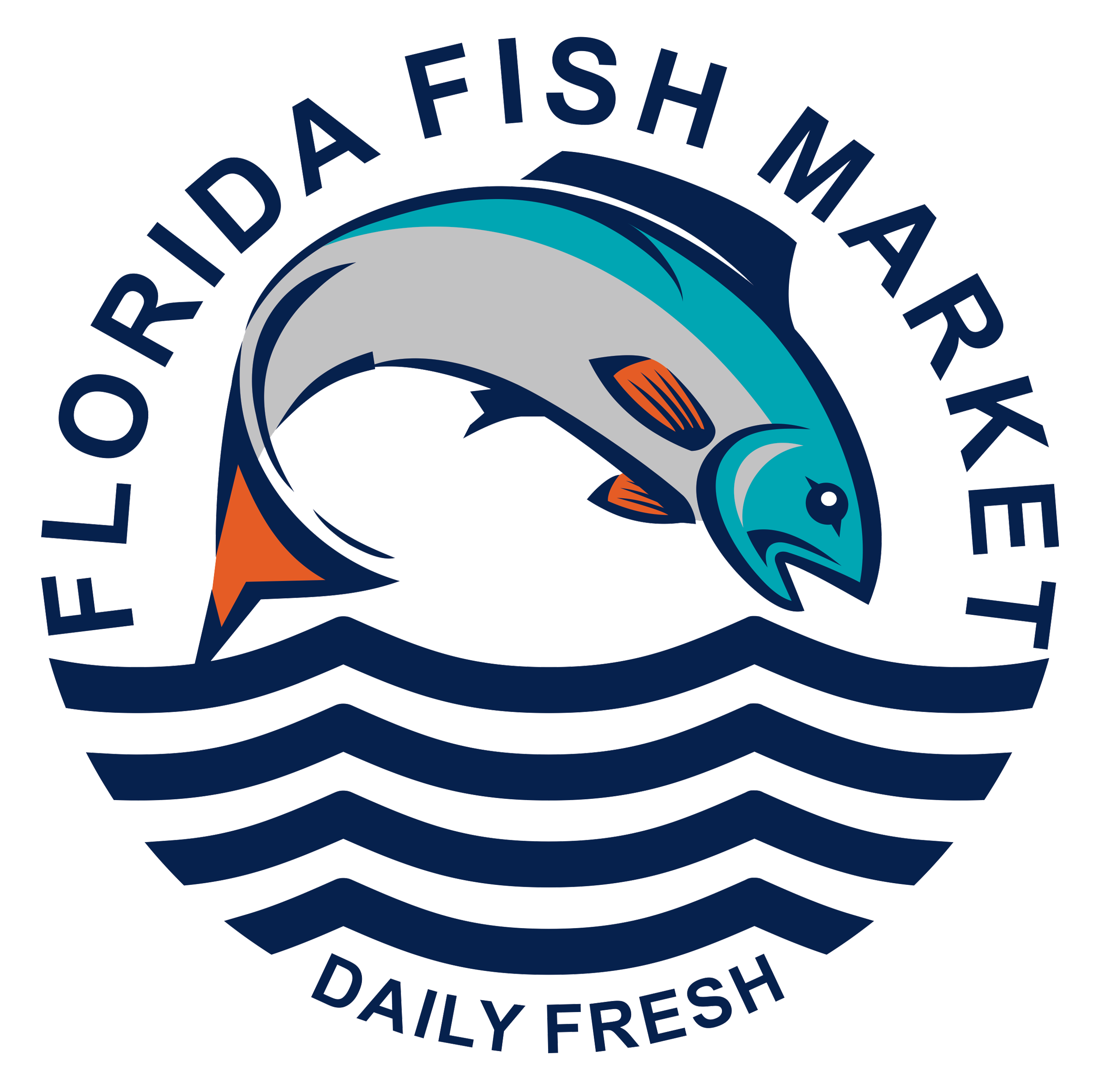 Florida market from the. Tuna clipart fresh fish