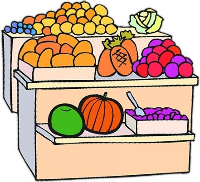 X free clip art. Market clipart fruitstand