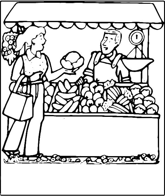 Market clipart line art. Free cliparts download clip