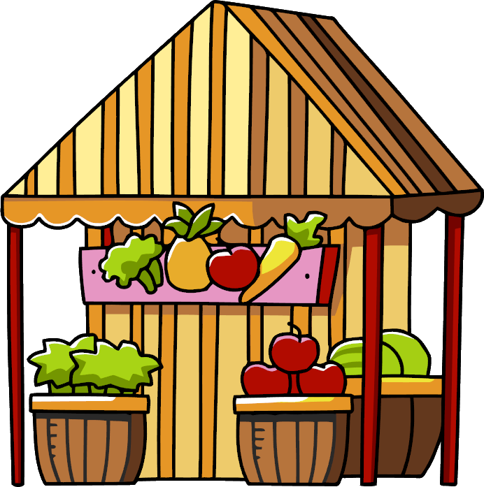 Market clipart market day. Image png scribblenauts wiki