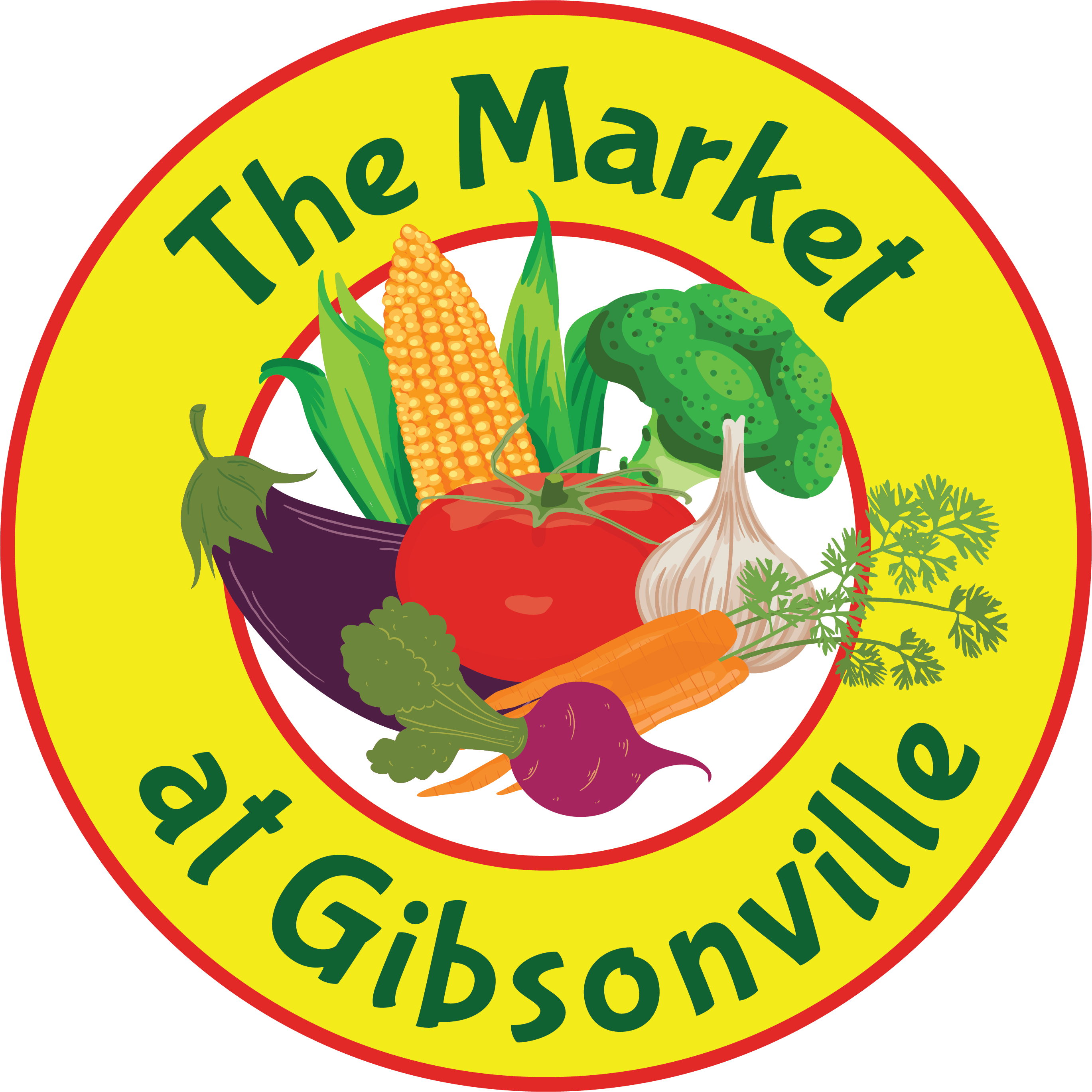 The at gibsonville town. Market clipart market day