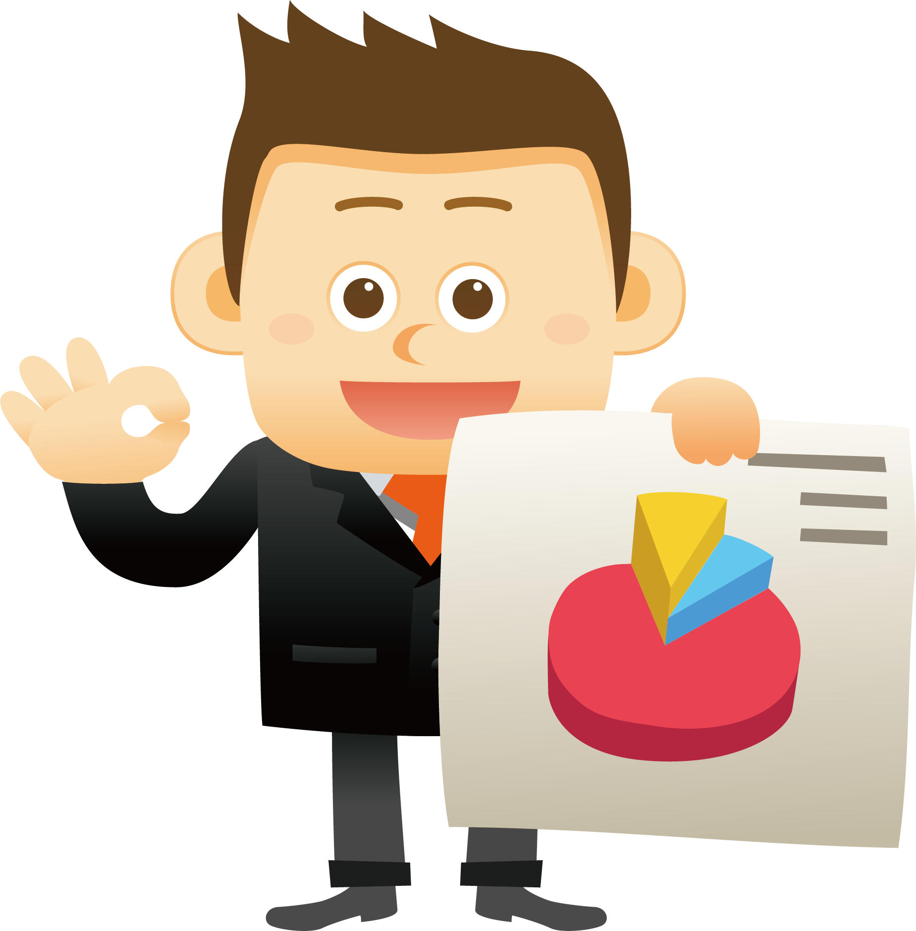 Marketing research advertising staff. Market clipart old market