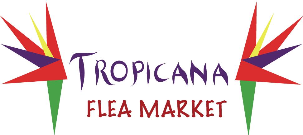 Tropicana flea . Market clipart street market