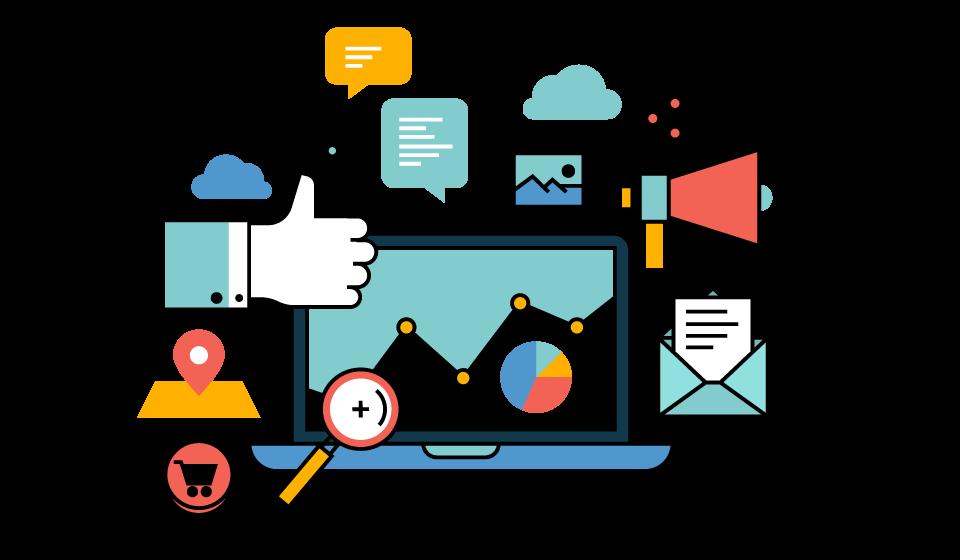 Business creative designs web. Market clipart vector