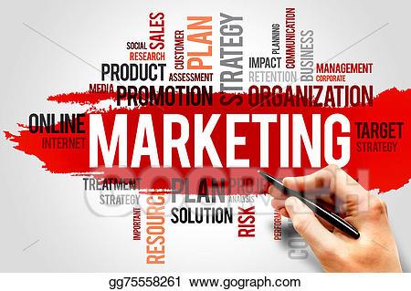 Stock illustration gg gograph. Marketing clipart