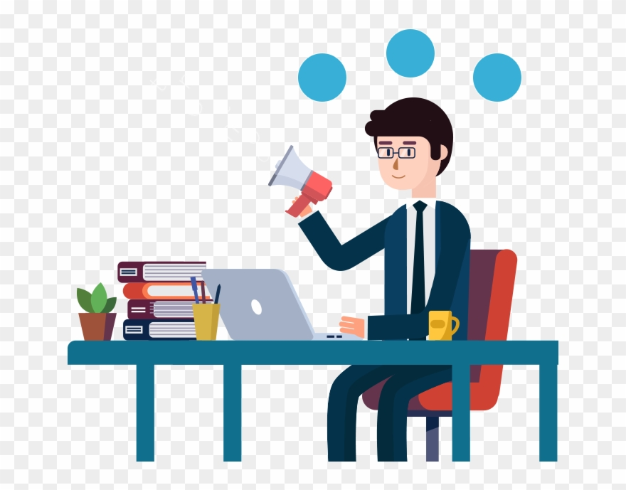 Marketing clipart agency. Content person