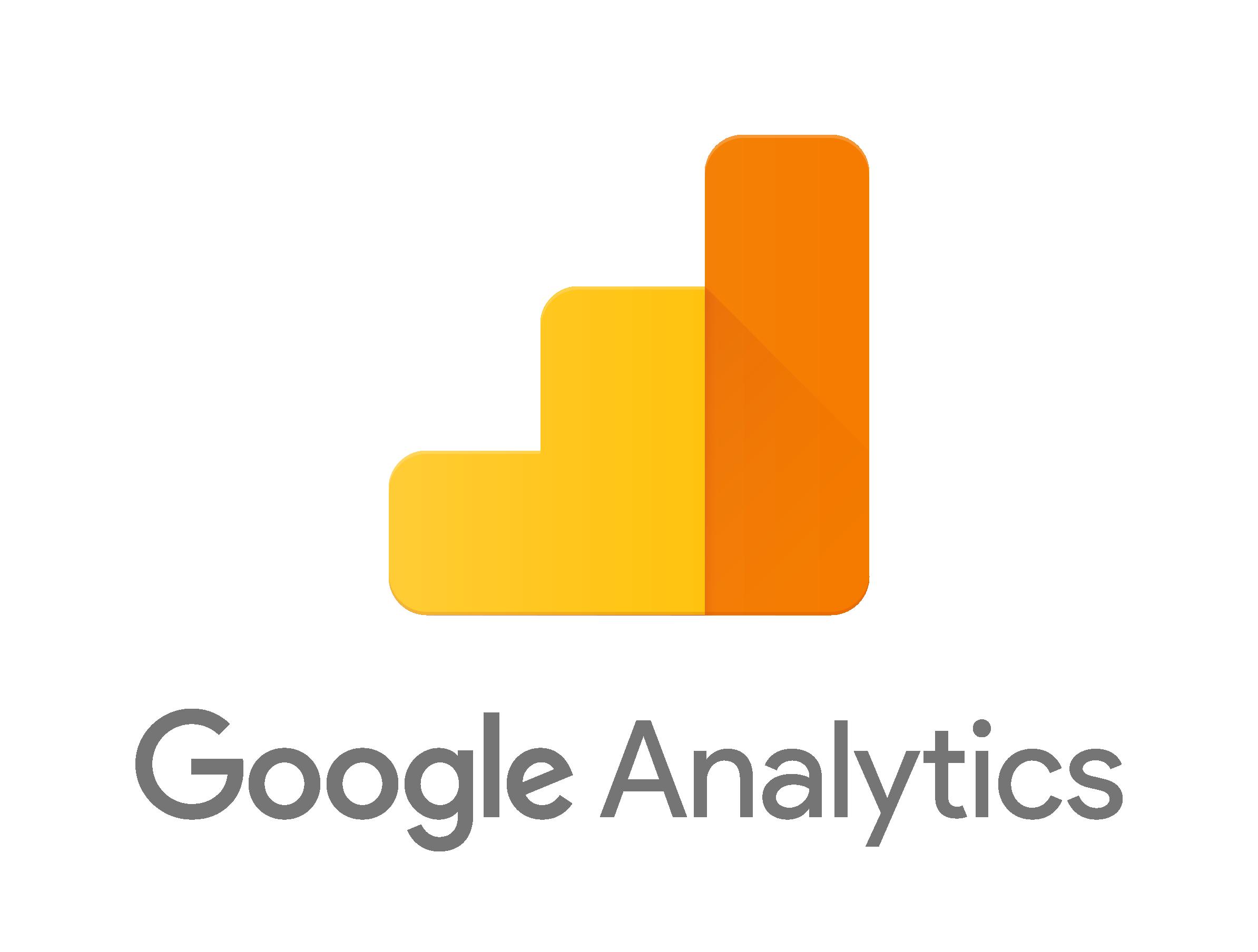 Google analytics png. Using to demonstrate roi