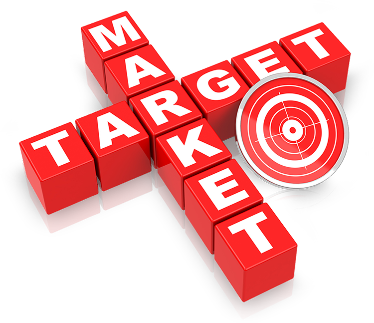 How to keywords effectively. Marketing clipart customer target