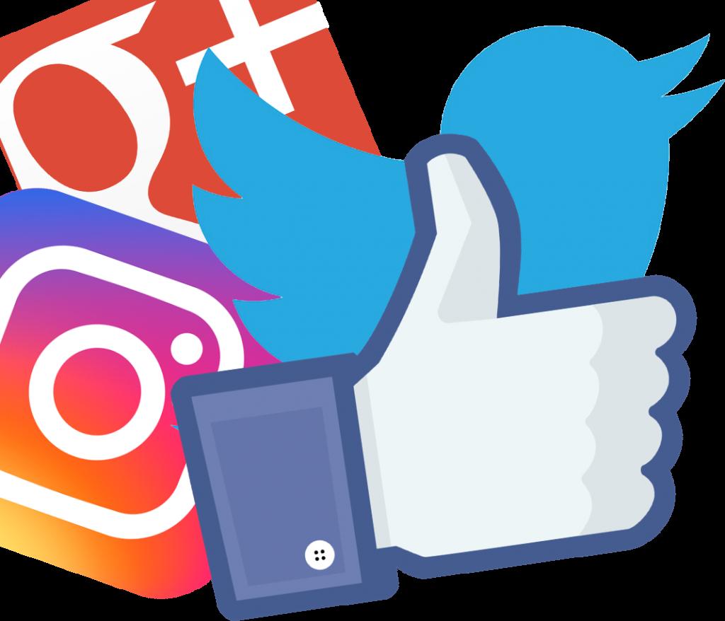 Marketing clipart media icon. Digital services search social