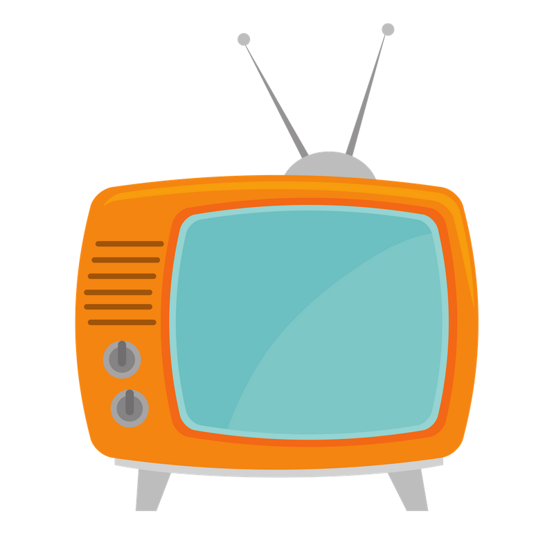 Television clipart tv production. Media buying madison wi