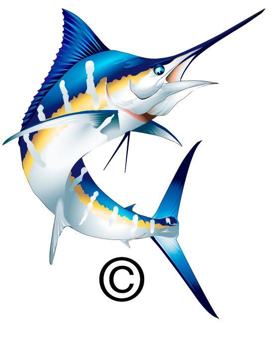 Marlin clipart. Clip art related keywords