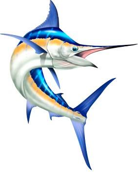 Blue spirit graphix . Marlin clipart