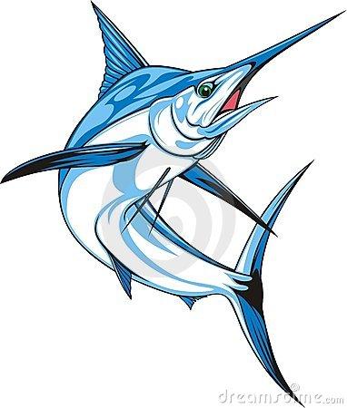Marlin clipart.