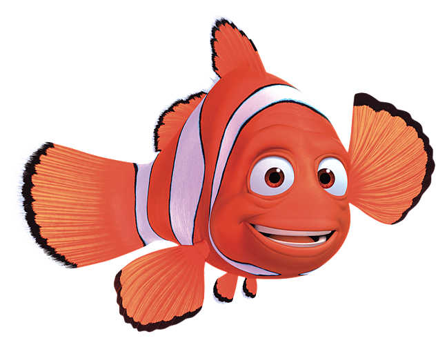 Nemo clipart character pixar. Marlin finding animation png