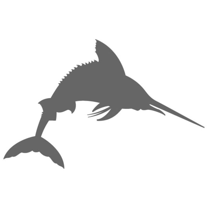 Craftcuts com . Marlin clipart stencil