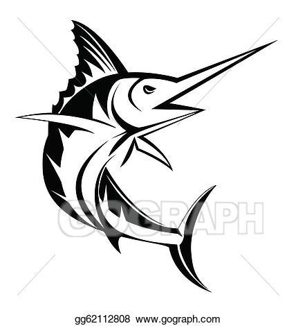 Marlin clipart. Clip art royalty free