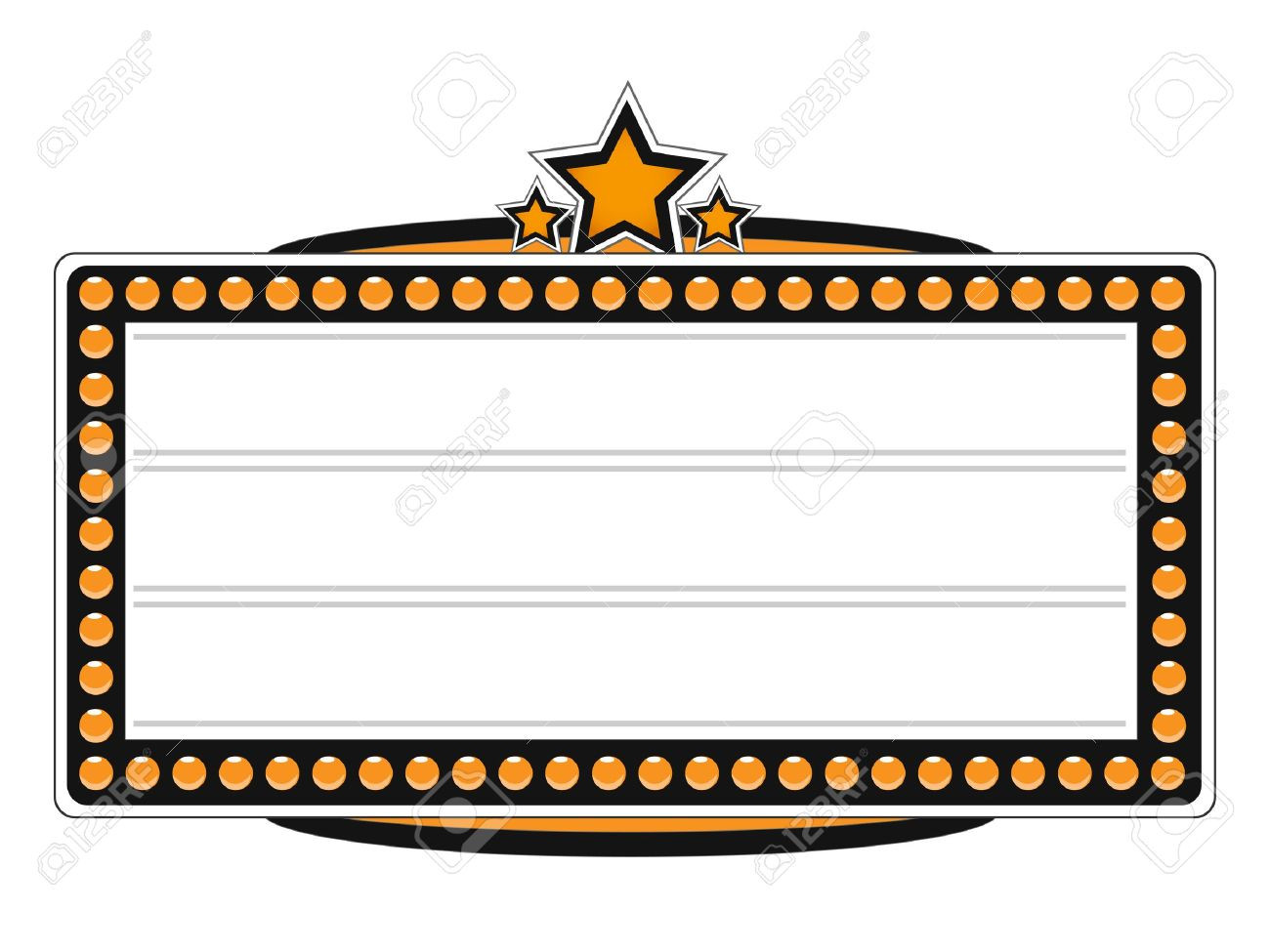 Template free freetmplts collection. Marquee clipart