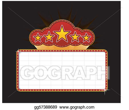 Clip art royalty free. Marquee clipart