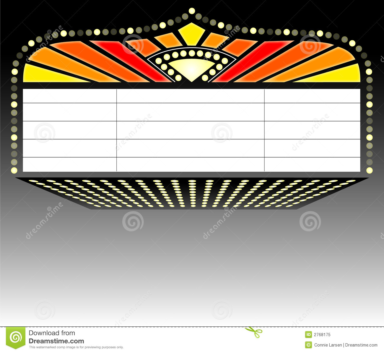 Marquee clipart. Broadway