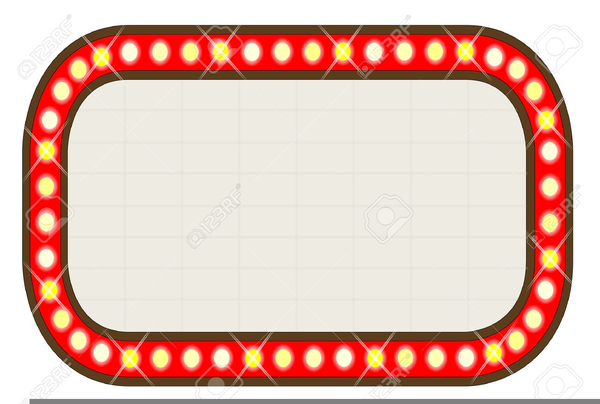 Marquee clipart. Movie theater free images