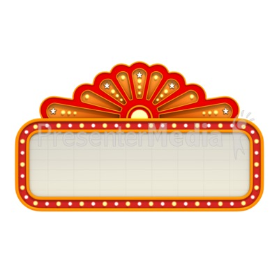 Hollywood clipart theatre marquee. Free movie cliparts download