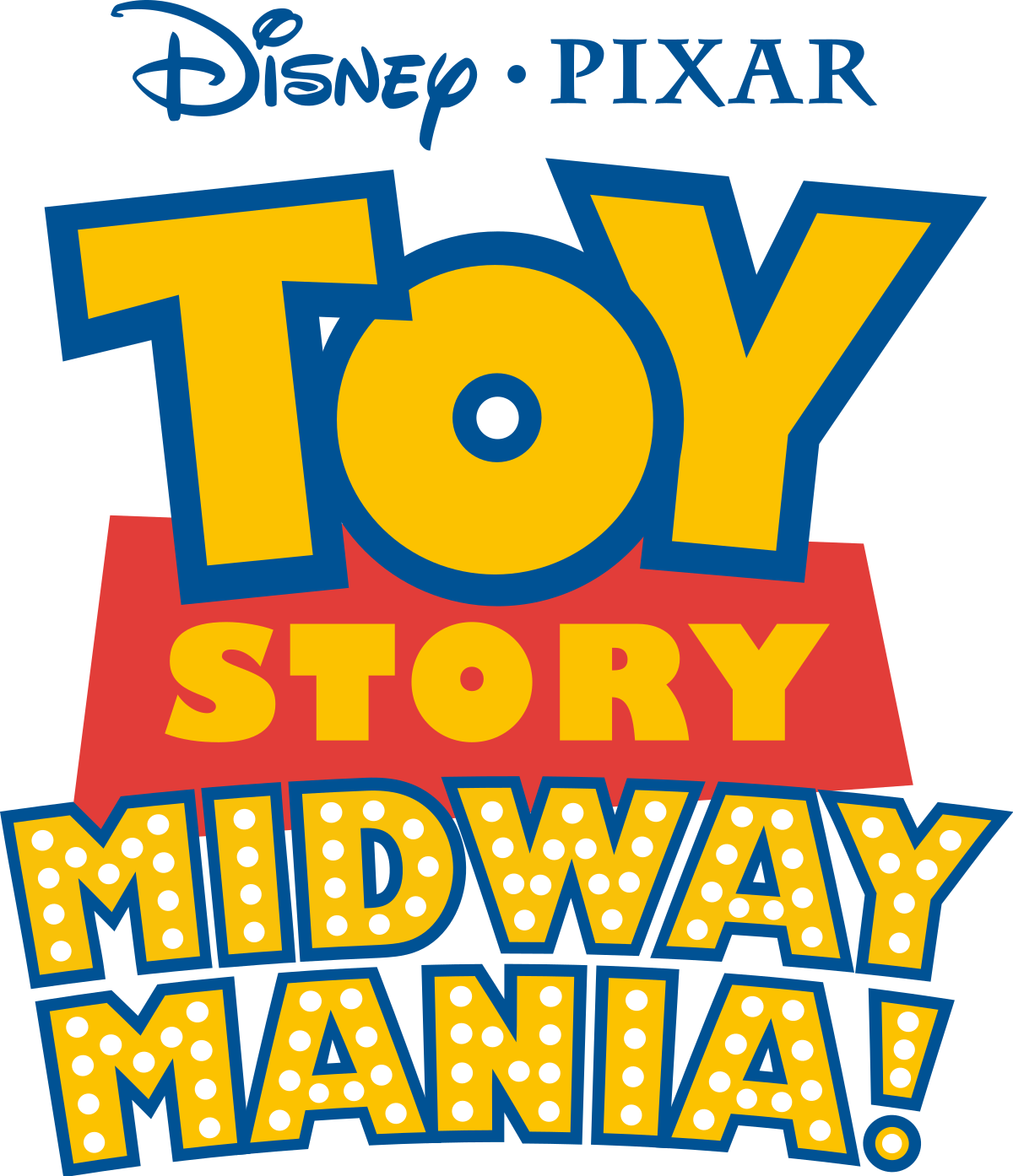 Marquee clipart hollywood. Toy story midway mania