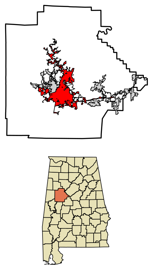 Pioneer clipart trail tear. Tuscaloosa alabama wikiwand location
