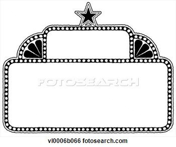 Marquee clipart movie preview.  sports clip art
