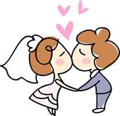 Clip art panda free. Marriage clipart
