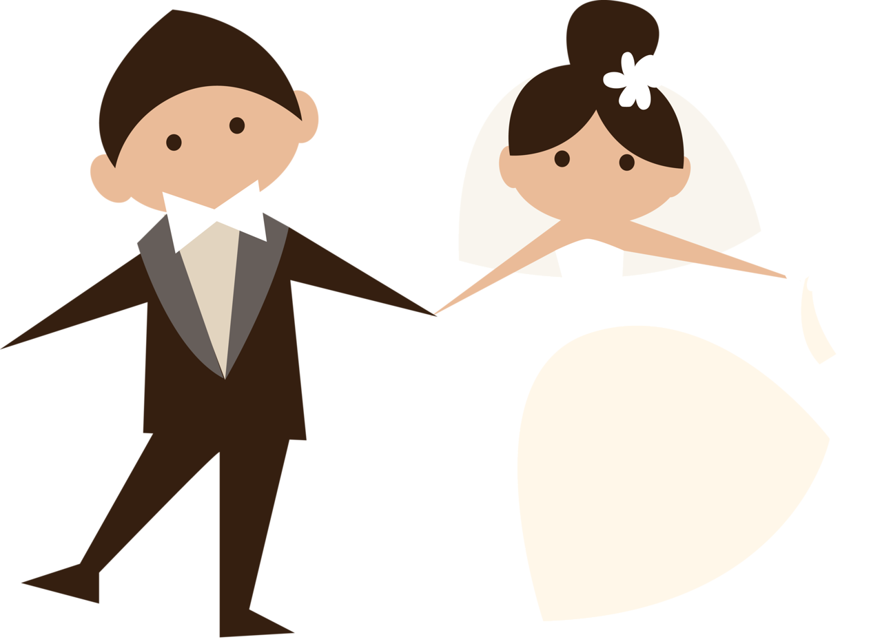 Marriage clipart married couple.  png pinterest wedding