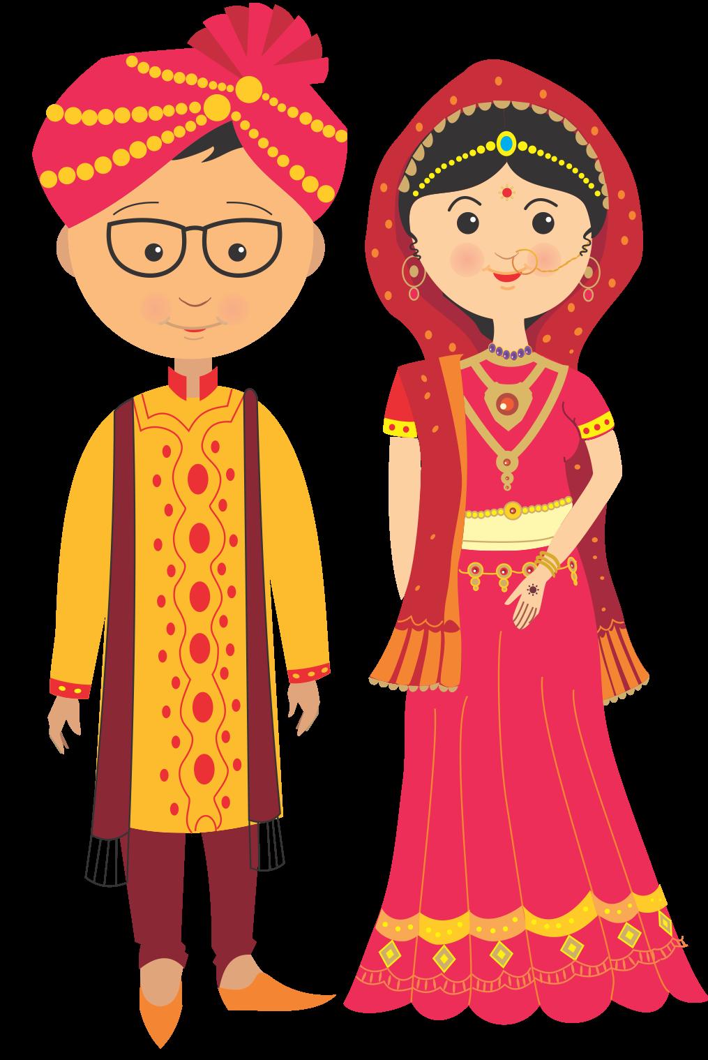 Marriage clipart shadi. Home shaadi amantran to