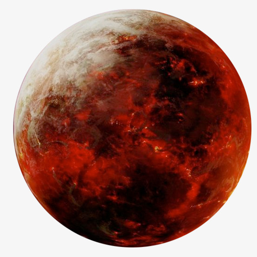 Mars clipart. Red planet png image