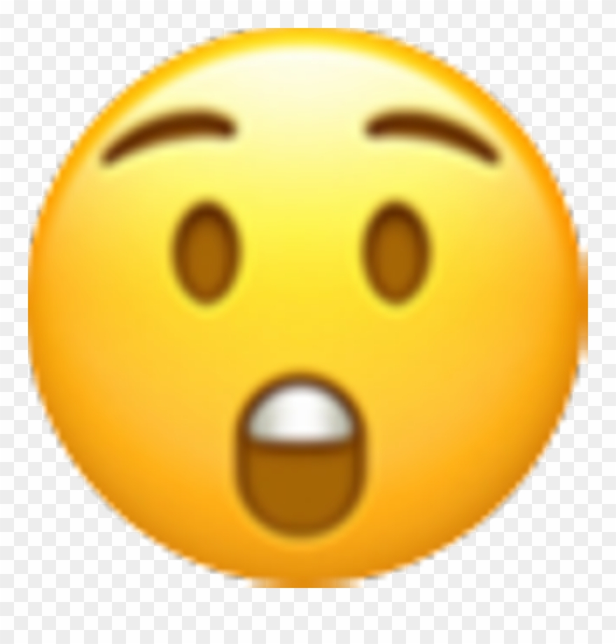 Transparent smiley pinclipart . Wow clipart emoji