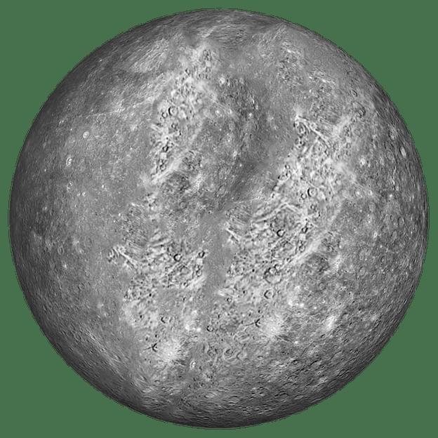 Transparent background . Planet clipart mercury