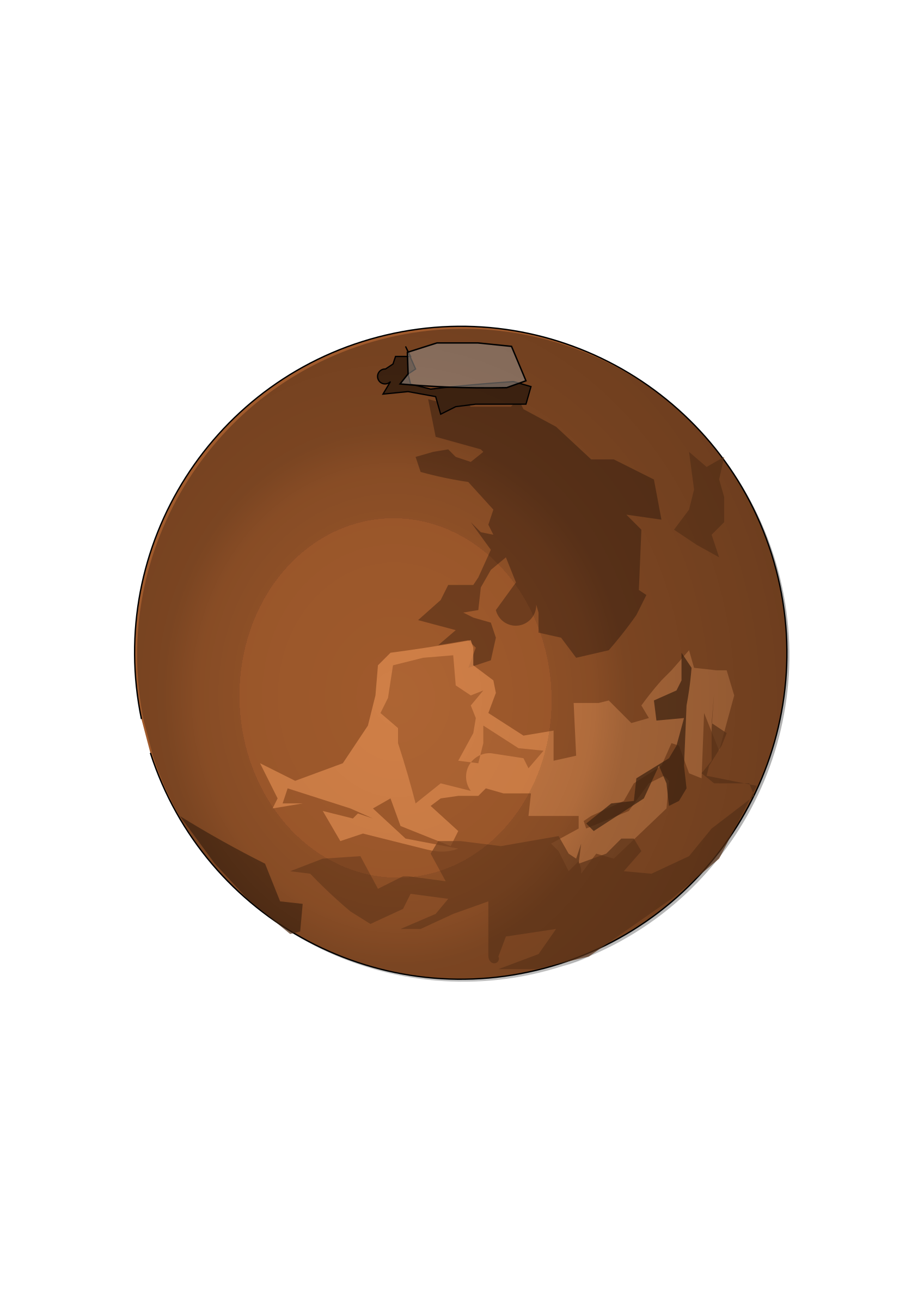 Icons png free and. Mars clipart planet outline