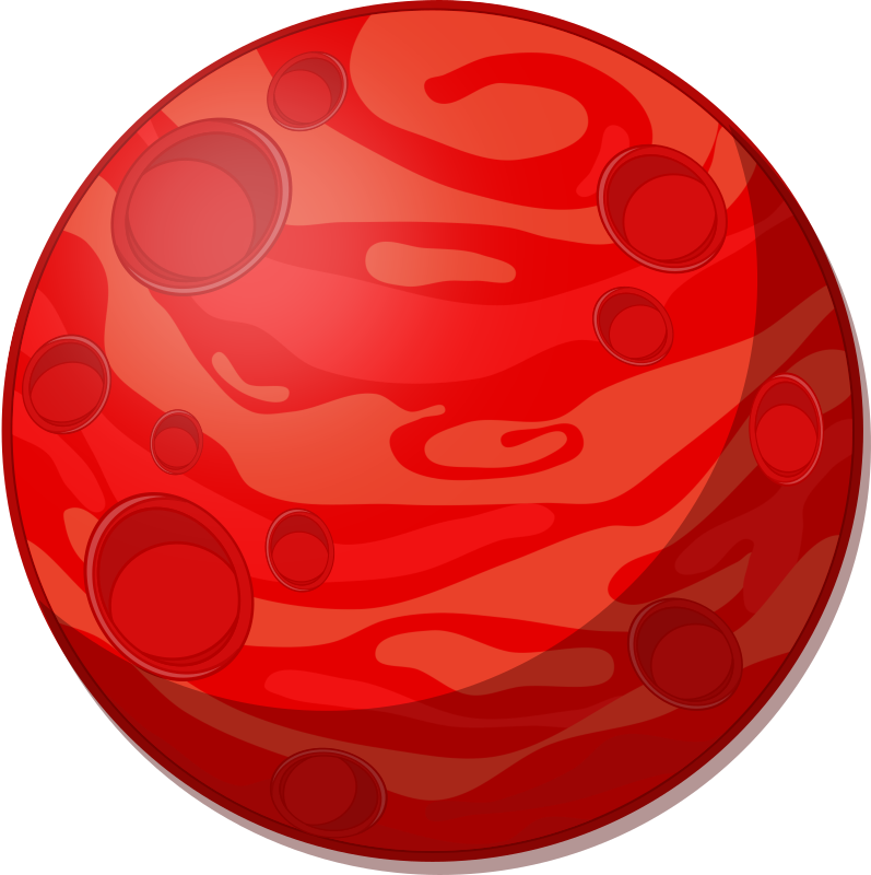 Mars clipart planet outline. Images of planets drawing
