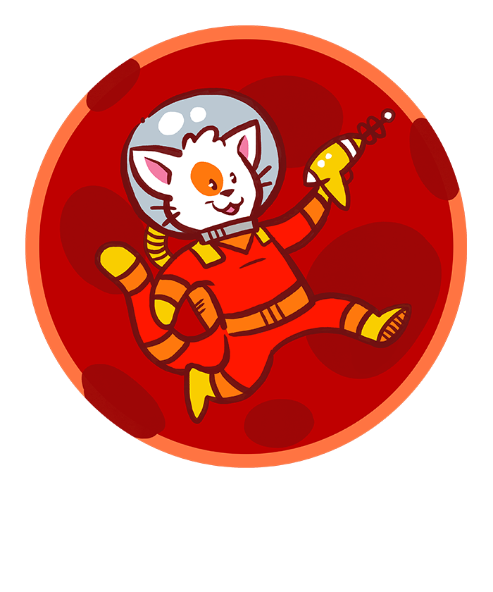 Planet clipart planet mars. Cats from bringing stellar
